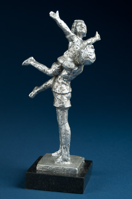 Reaching (pewter)