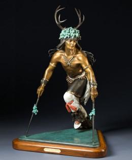 Pueblo Deer Dancer