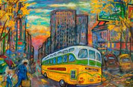 Bus on Main